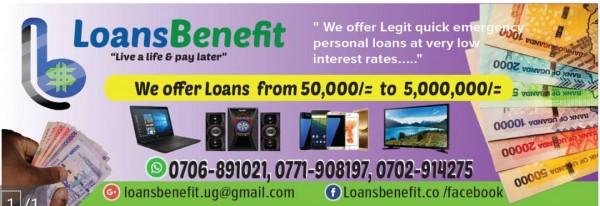 Loansbenefit Co Kampala Uganda Contact Phone Address