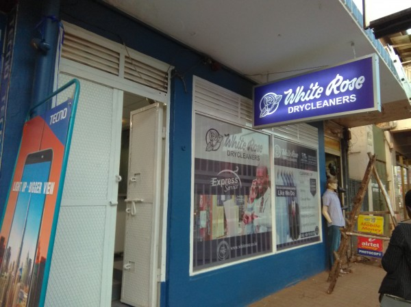 Add A Photo Company Name White Rose Dry Cleaners