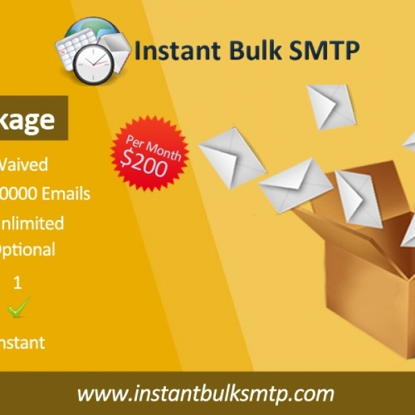Mass mailer with built-in SMTP server  Send newsletter